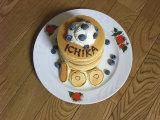 100日記念、夢の積み上げパンケーキ